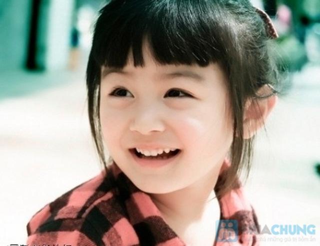 Bộ quần áo cho bé gái hình tim chất liệu cotton co giãn - 3