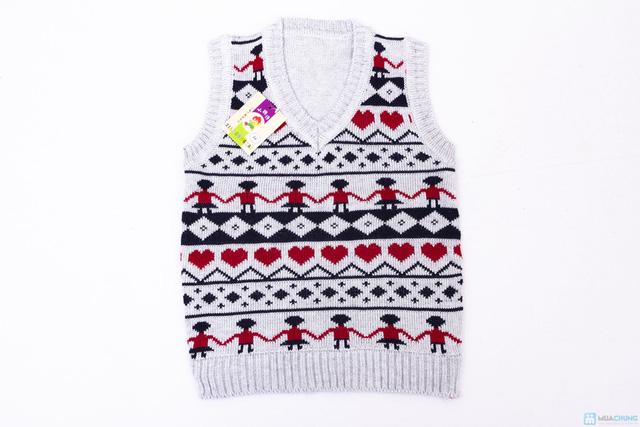 Combo 02 áo len gile cho bé trai - 2