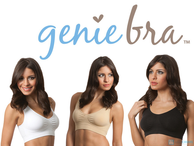 Thoải mái, tự tin cho vòng một thêm gợi cảm cùng Combo 03 áo ngực Genie Bra - Chỉ 495.000đ - 3