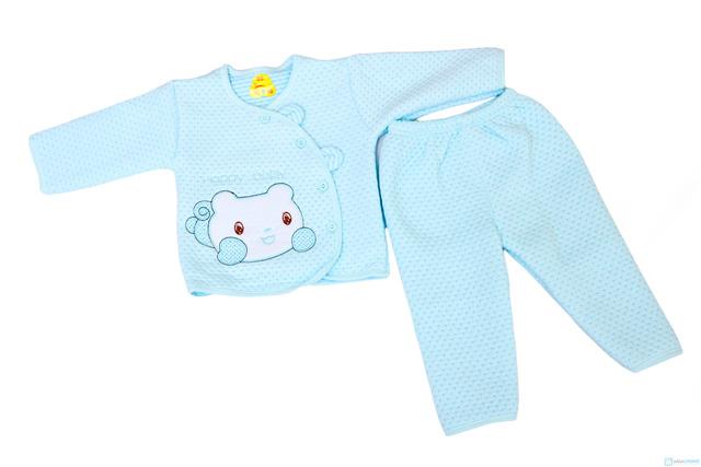 Bộ quần áo bông cho trẻ từ 0 - 9 tháng - 1