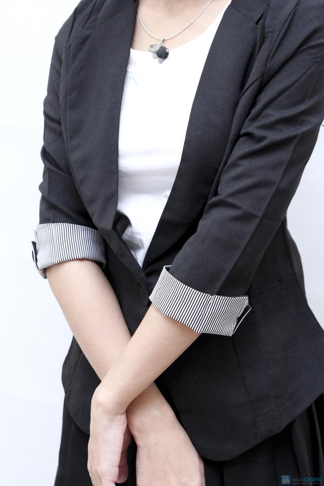 Áo vest nữ tay lỡ - 1