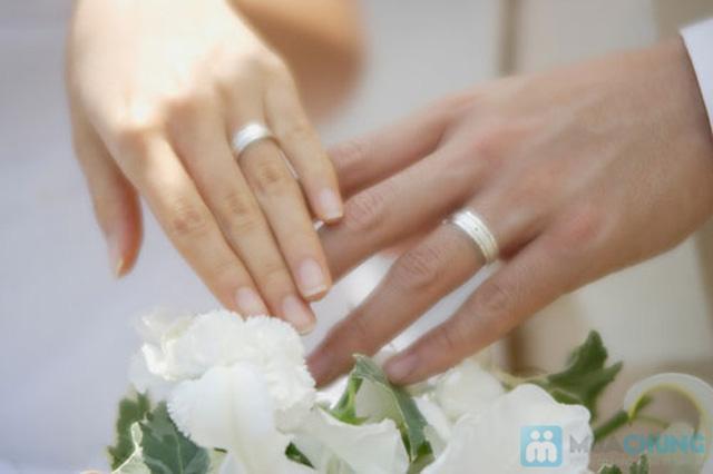 Món quà ý nghĩa thể hiện tình yêu chân thành, ngọt ngào của hai bạn với Cặp đôi nhẫn bạc  925 - Chỉ với 475.000đ - 1