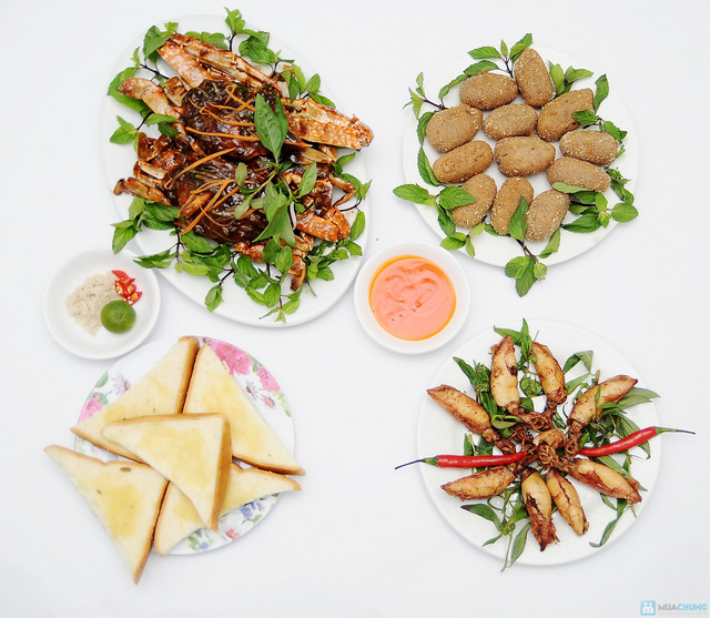 Thưởng thức Hải sản nhiều món ngon tại Nhà hàng Hải sản Hải Hiền. Chỉ 210.000đ - 2