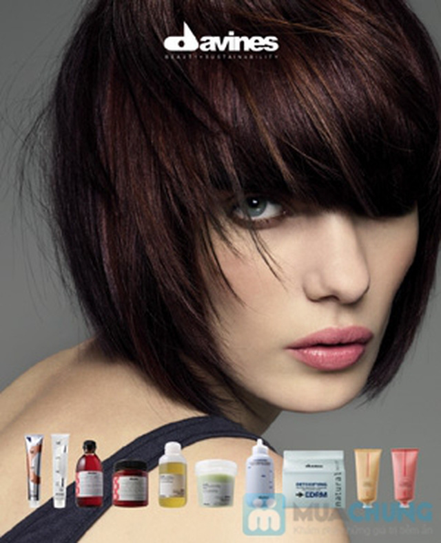 Lựa chọn 01 trong 03 dịch vụ làm tóc: Uốn lạnh, Nhuộm, Ép phồng tại Salon tóc Hương Hà - Chỉ với 300.000đ - 1