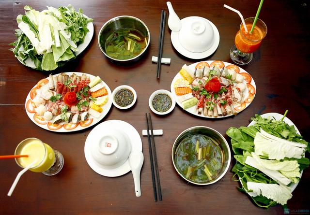 2 nồi lẩu cá nhân cho 2 người tại nhà hàng Phú Sỹ - Chỉ 131.000đ - 17