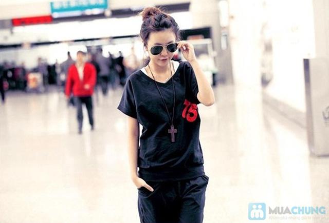 Bộ đồ thể thao Hàn Quốc - Khỏe khắn, năng động và thời trang cho phái nữ.-Chỉ 130.000đ/ 01 bộ - 1
