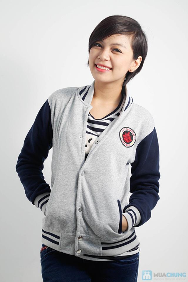 Áo khoác nữ bóng chày trẻ trung - Chỉ 107.000đ/ 01 áo - 9
