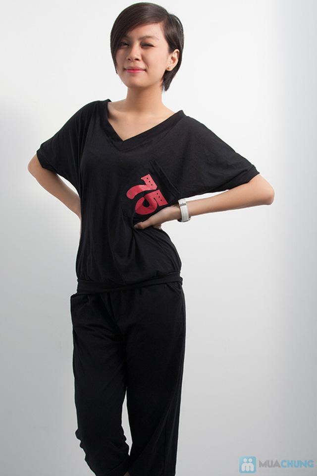 Bộ đồ thể thao Hàn Quốc - Khỏe khắn, năng động và thời trang cho phái nữ - Chỉ 130.000đ/ 01 bộ - 3