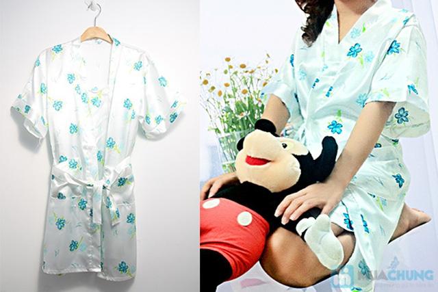Đầm ngủ + Áo khoác sexy - Bạn gái gợi cảm và quyến rũ - Chỉ 105.000đ/01 chiếc - 2