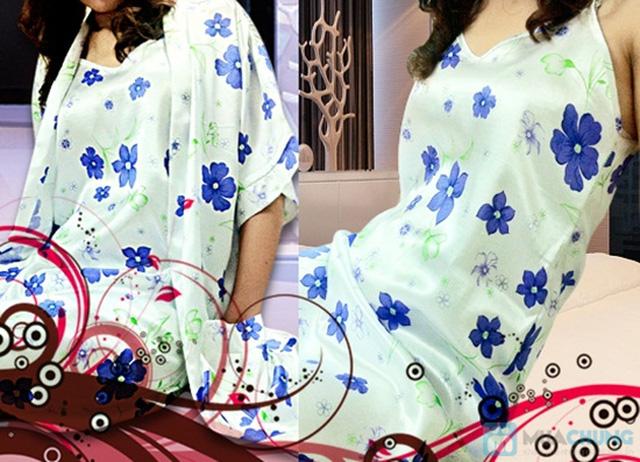 Đầm ngủ + Áo khoác sexy - Bạn gái gợi cảm và quyến rũ - Chỉ 105.000đ/01 chiếc - 3