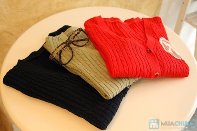 Áo khoác len Face Hàn ấm áp mùa thu đông - Chỉ 155.000đ - 10