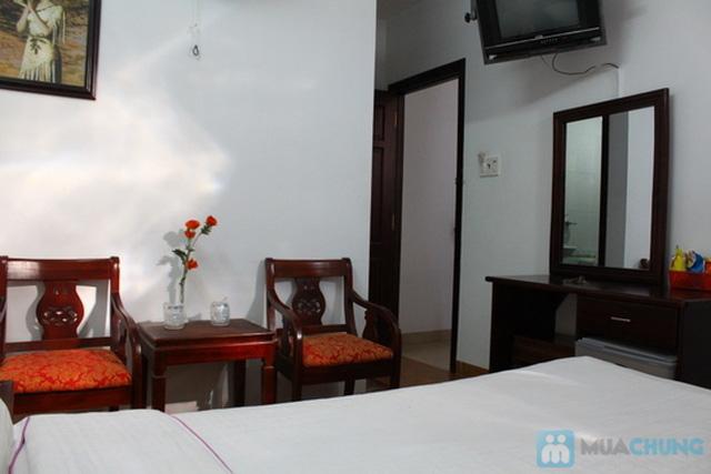 Khách sạn Ken - trung tâm thành phố biển Nha Trang. Phòng tiện nghi cho 02 người. Chỉ 350.000đ/02 đêm - 5