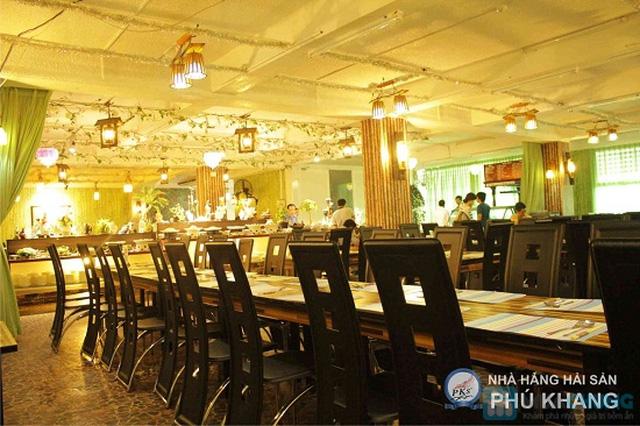 Buffet trưa  tại NH hải sản Phú Khang - Chỉ 99.000đ/ 01 người. - 29
