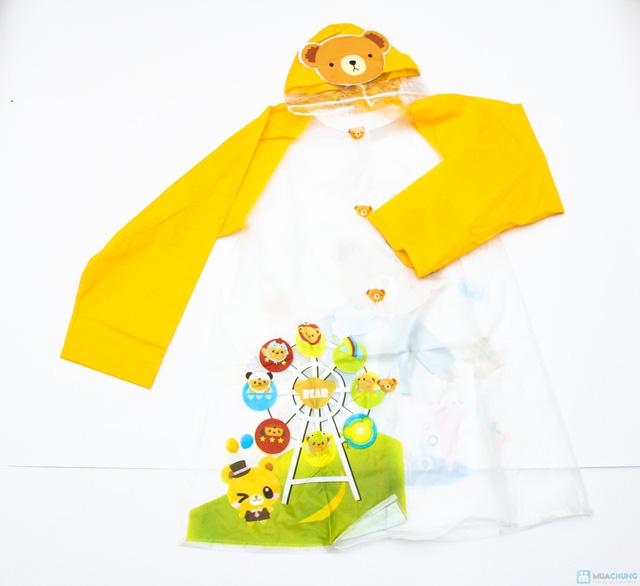 Áo mưa cho bé - Tiện dụng và giúp bé tự tin đến trường, không lo bị ướt - Chỉ với 77.000đ - 3
