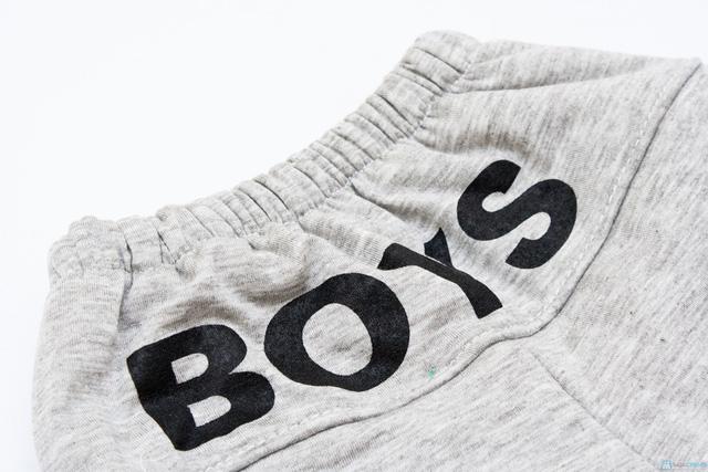 Bộ quần áo bông trần ấm áp cho bé - 7