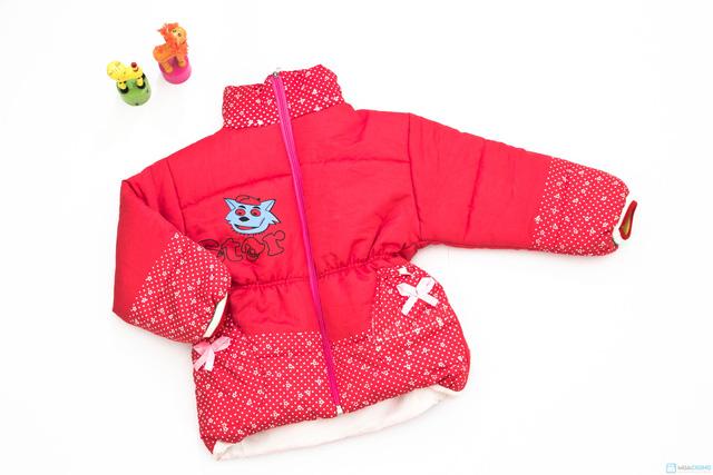Áo phao ấm áp và xinh xắn dành cho bé gái - Chỉ với 113.000đ - 4