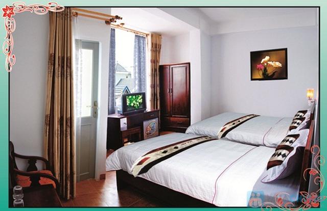 Khách sạn Ken - trung tâm thành phố biển Nha Trang. Phòng tiện nghi cho 02 người. Chỉ 350.000đ/02 đêm - 2
