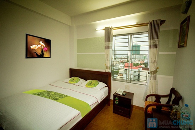Khách sạn Ken - trung tâm thành phố biển Nha Trang. Phòng tiện nghi cho 02 người. Chỉ 350.000đ/02 đêm - 4