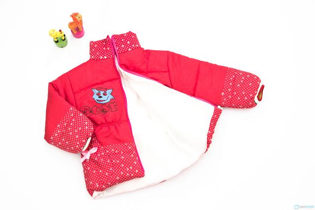 Áo phao ấm áp và xinh xắn dành cho bé gái - Chỉ với 113.000đ - 5