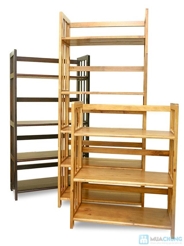 Kệ gỗ đựng sách 3 tầng sang trọng - Cho không gian sống ngăn nắp, khoa học - Chỉ 390.000đ/01 chiếc - 6