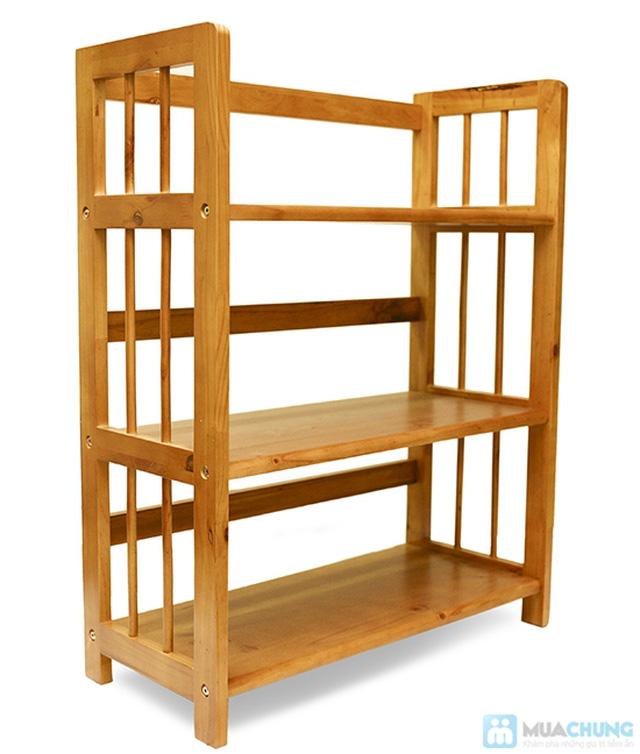 Kệ gỗ đựng sách 3 tầng sang trọng - Cho không gian sống ngăn nắp, khoa học - Chỉ 390.000đ/01 chiếc - 2