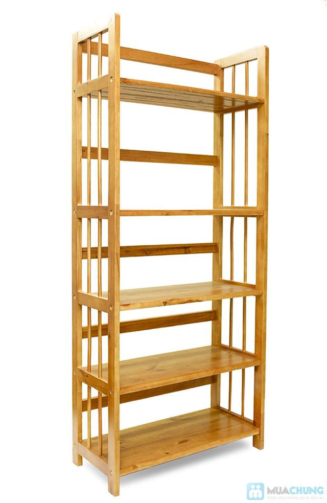 Kệ gỗ đựng sách 3 tầng sang trọng - Cho không gian sống ngăn nắp, khoa học - Chỉ 390.000đ/01 chiếc - 4