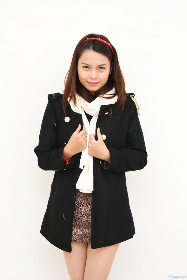 Áo dạ kèm thắt lưng - Sang trọng và lịch sự - Đem lại sự ấm áp cho bạn gái khi đông về - 1