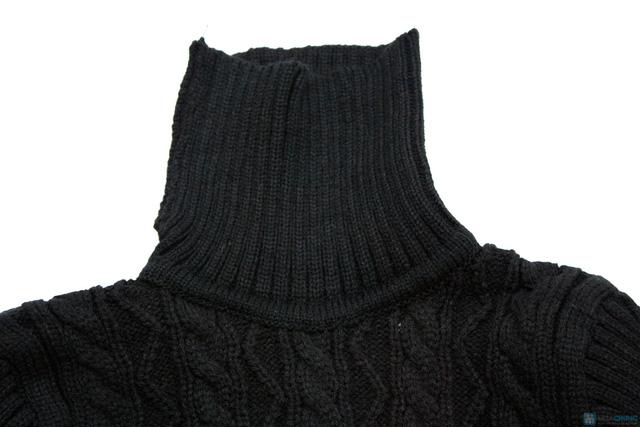 Áo len cổ lọ cho bé - 2