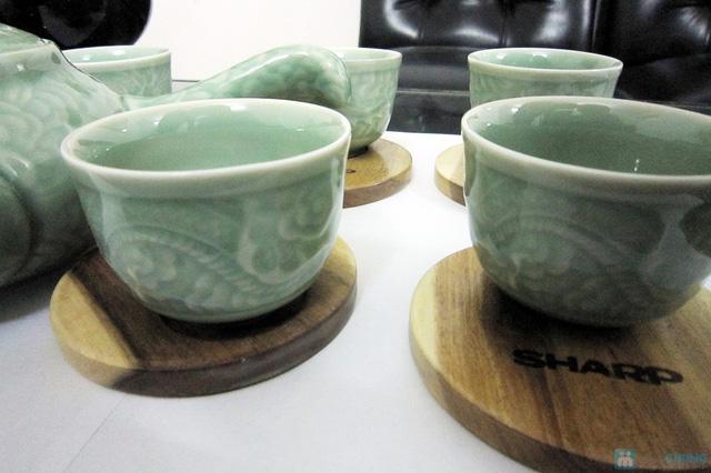 Bộ ấm trà men ngọc Hàn Quốc - quà tặng ý nghĩa cho ngày 20/11 - Chỉ 135.000đ/bộ - 3