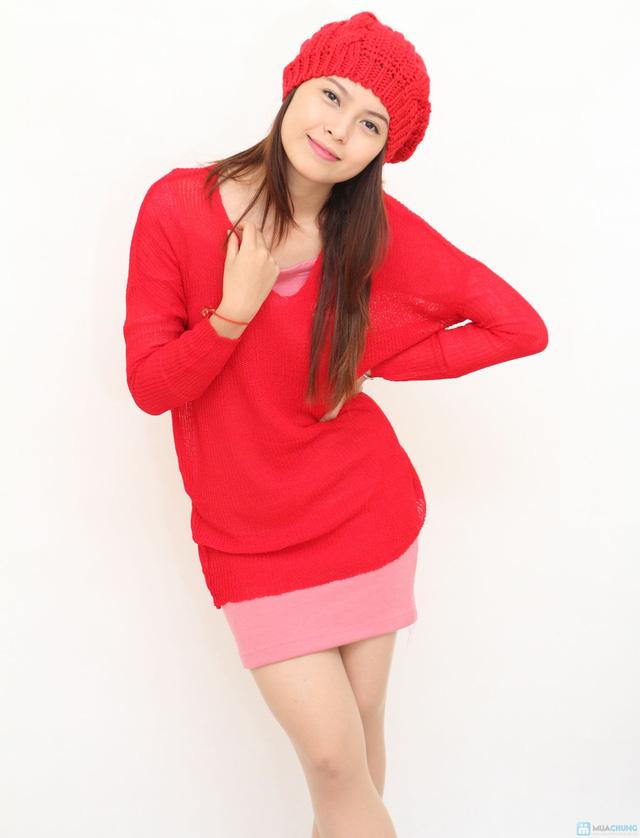 Mũ len bere thời trang cho bạn gái - Chỉ với 60.000đ - 2