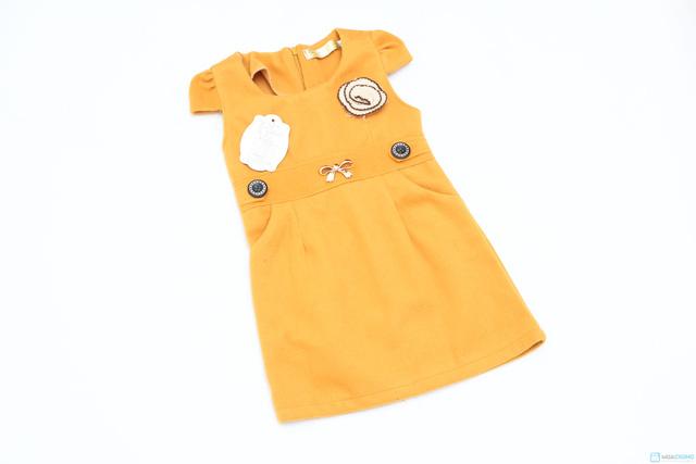 Váy dạ xinh xinh cho bé gái - Ấm áp và thời trang - Chỉ với 115.000đ  - 2