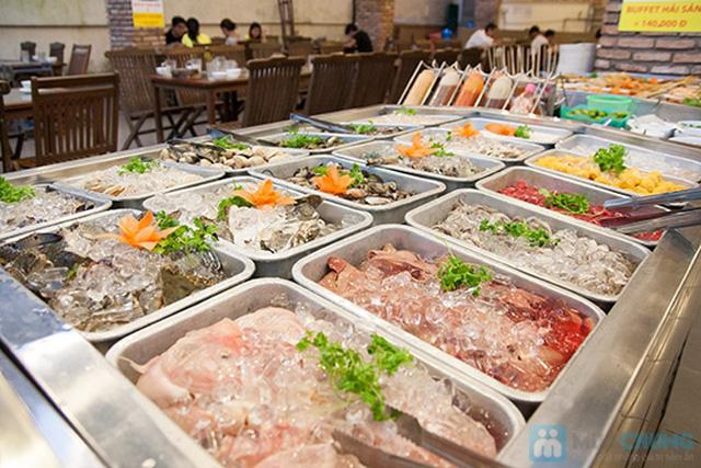 Buffet hải sản Happy Tôm - với hơn 70 món khác nhau - Chỉ với 329.000đ/ 01 người - 5