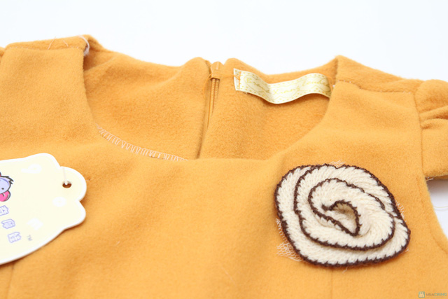 Váy dạ xinh xinh cho bé gái - Ấm áp và thời trang - Chỉ với 115.000đ  - 3
