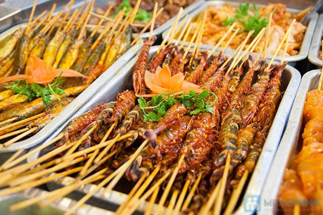 Buffet hải sản Happy Tôm - với hơn 70 món khác nhau - Chỉ với 329.000đ/ 01 người - 7