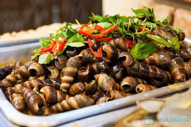 Buffet hải sản Happy Tôm - với hơn 70 món khác nhau - Chỉ với 329.000đ/ 01 người - 10
