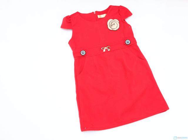 Váy dạ xinh xinh cho bé gái - Ấm áp và thời trang - Chỉ với 115.000đ  - 8