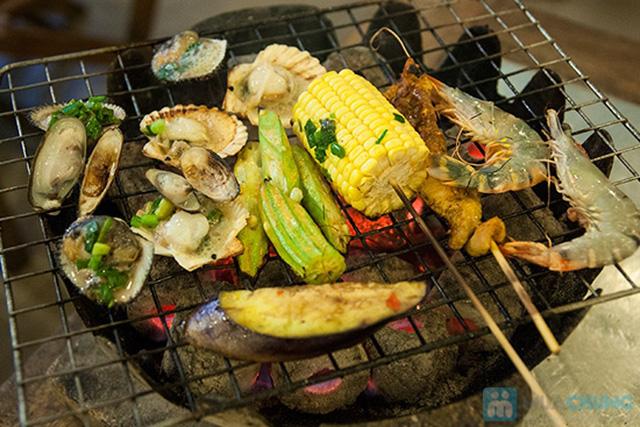 Buffet hải sản Happy Tôm - với hơn 70 món khác nhau - Chỉ với 329.000đ/ 01 người - 15