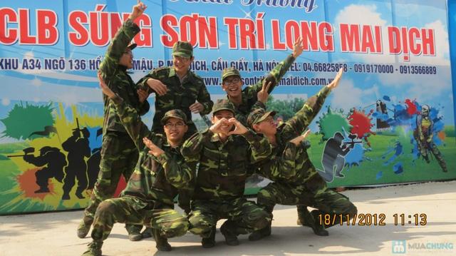 Cùng bạn bè thư giãn, thoải mái với trò chơi bắn súng sơn tại CLB Súng sơn Hà Nội - Chỉ với 120.000đ - 2