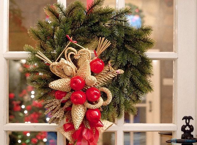 Vòng quế Giáng Sinh - 11