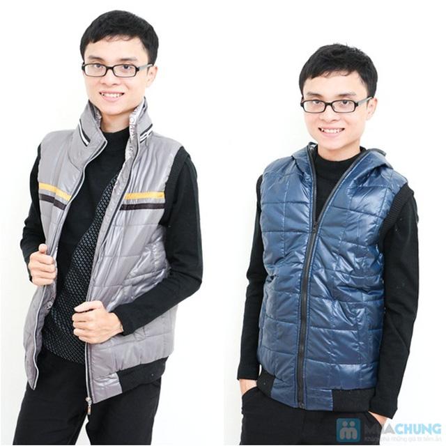 áo phao gile cho nam - 6