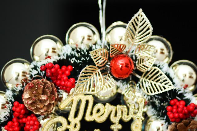 Vòng quế Giáng Sinh - 5