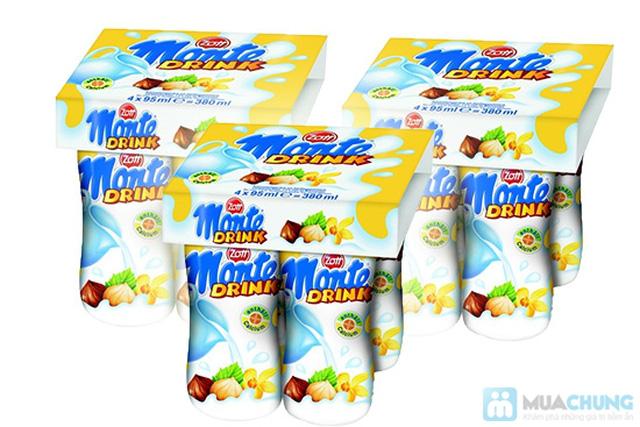 Combo 03 lốc váng sữa đóng chai Monte Drink - Nhập khẩu từ CHLB Đức - Chỉ 108.000đ/03 lốc/12 chai - 3