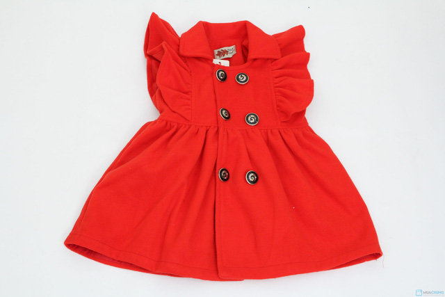 Váy dạ bé gái - Xinh xắn và đáng yêu - Ấm áp khi đông về - 4