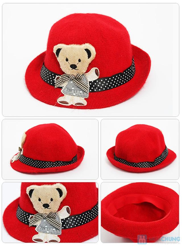 Đáng yêu với nón gấu kiểu Hàn Quốc cực kỳ dễ thương cho bé - Chỉ 80.000đ - 7