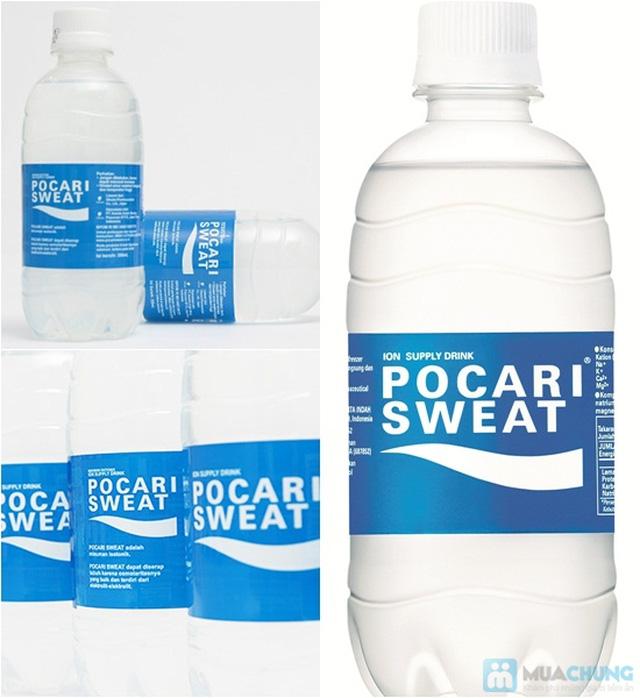 Nước uống Pocari Sweat 350ml - Thùng 24 chai. Chỉ 192.000đ - 1