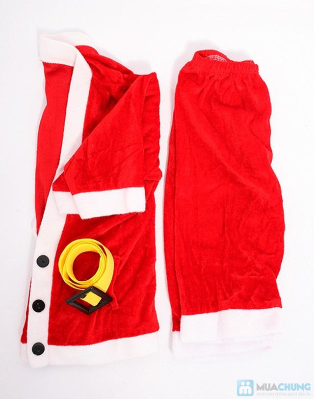Bộ quần áo ông già Noel bằng vải nhung cho bé vui Giáng sinh - Chỉ 77.000đ/01 bộ - 2