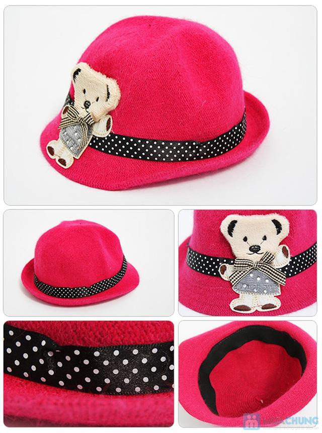 Đáng yêu với nón gấu kiểu cực kỳ dễ thương cho bé - Chỉ 80.000đ - 1