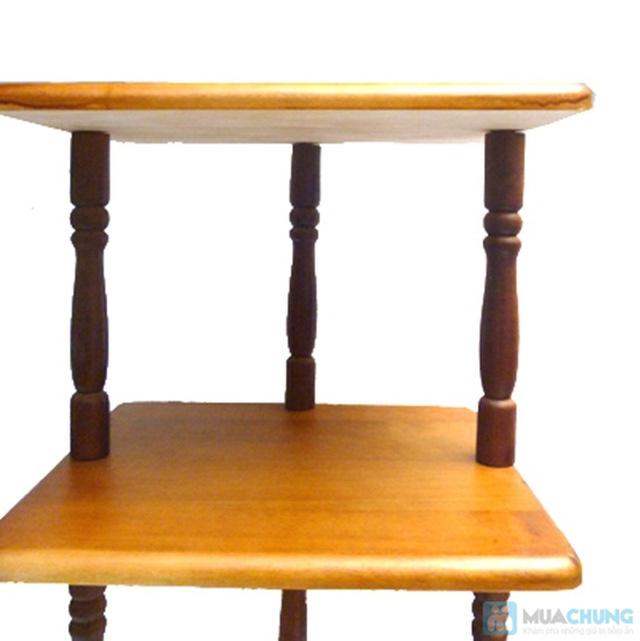 Phiếu mua kệ gỗ 3 tầng kiểu dáng cổ điển từ Công ty Lĩnh Nam - Chỉ 260.000đ  - 3