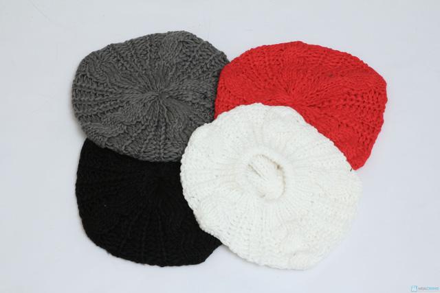 Mũ len bere thời trang cho bạn gái - Chỉ với 60.000đ - 1