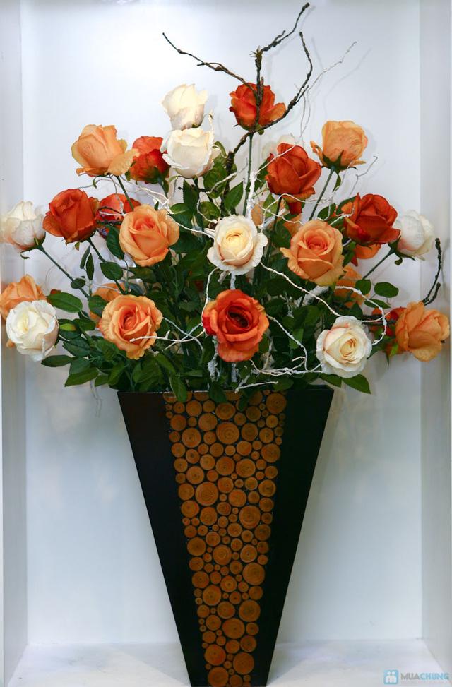 Tô điểm không gian sống của gia đình bạn với Hoa lụa nghệ thuật tại Hoa Decor - Hoa thay lời yêu thương - 1